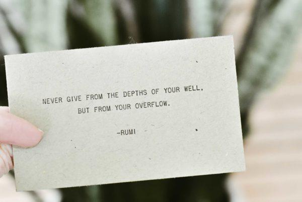 Rumi Zitat