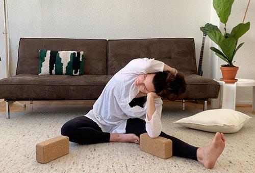 Yin Yoga halbe Libelle