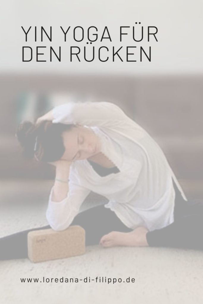 Yin Yoga Ruecken